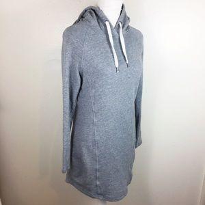 H&M L.O.G.G Sweater Hooded Dress Tunic : C